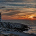 Peggy's Cove Sunset by Darryl Robertson
