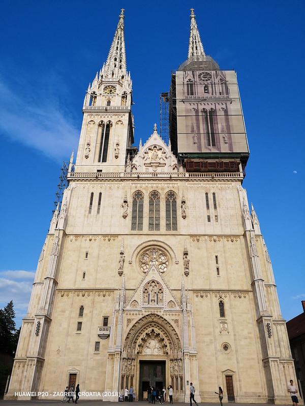 2018 Croatia Zagreb Cathedral