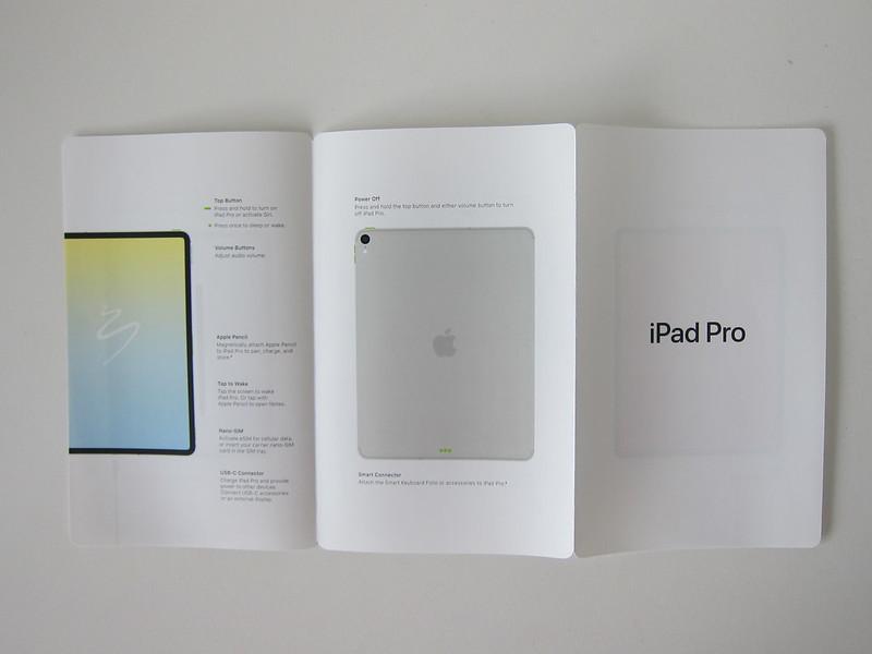 Apple iPad Pro 12.9 Inch (3rd Generation) (Space Grey 256GB) (Wi-Fi + Cellular) - Instructions