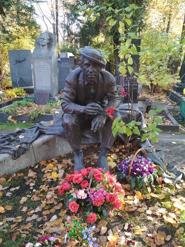 Москва - Новодевичье кладбище - Юрий Никулин