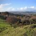 006a-20181111_Mid Glamorgan-panorama NW from Cefn Onn to (L-R) Cefncarnau, Mynydd Meio, Cefn Eglwysilan, Mynydd Eglwysilan, Mynydd y Grug-3 photo stitch