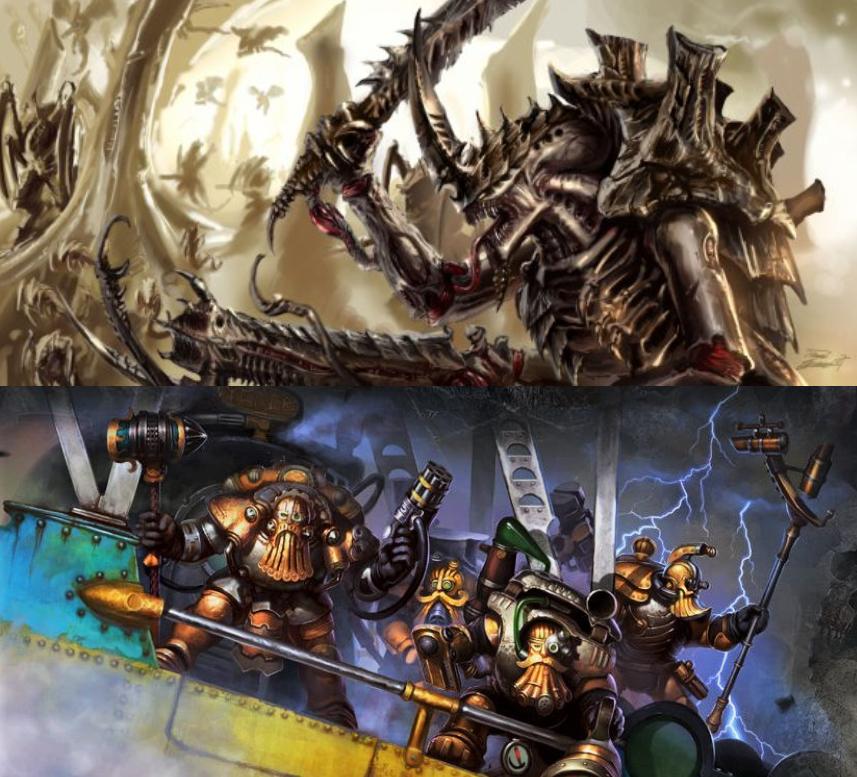 [Crazy Orc, 08.12.18] Tyranides vs Squats (4000pts) 45520719634_0330aafd54_o