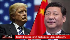 Tibet bill passed in US Parliament, China gets angry