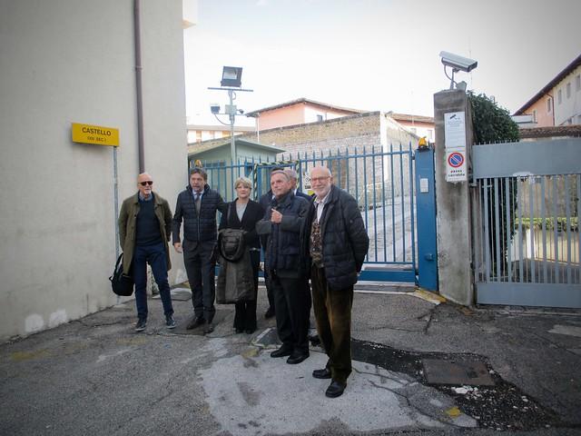 Rita Bernardini visita il carcere di Pordenone