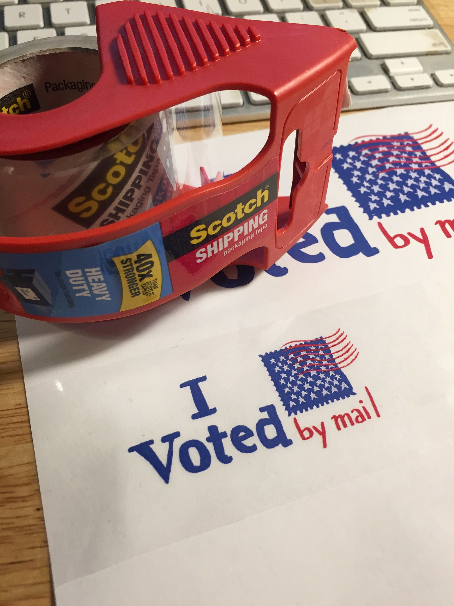 DIY I voted by mail