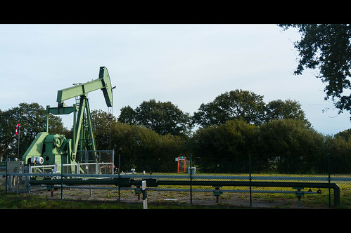 Pumpjack near Emlichheim, Germany
