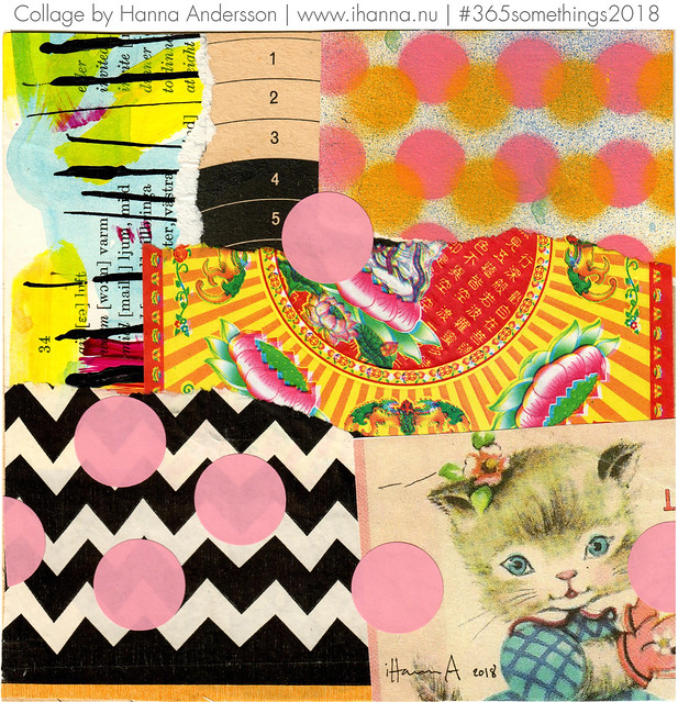 Miss Kitten is doted on - Collage no 337 by iHanna