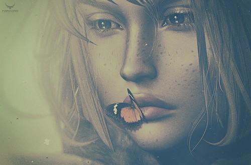 Dee~Little Butterfly Kiss....