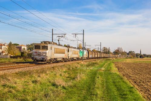 15 novembre 2018 BB 7372 Train 75656 St-Jory -> Valenton Lamothe-Landerron (33)