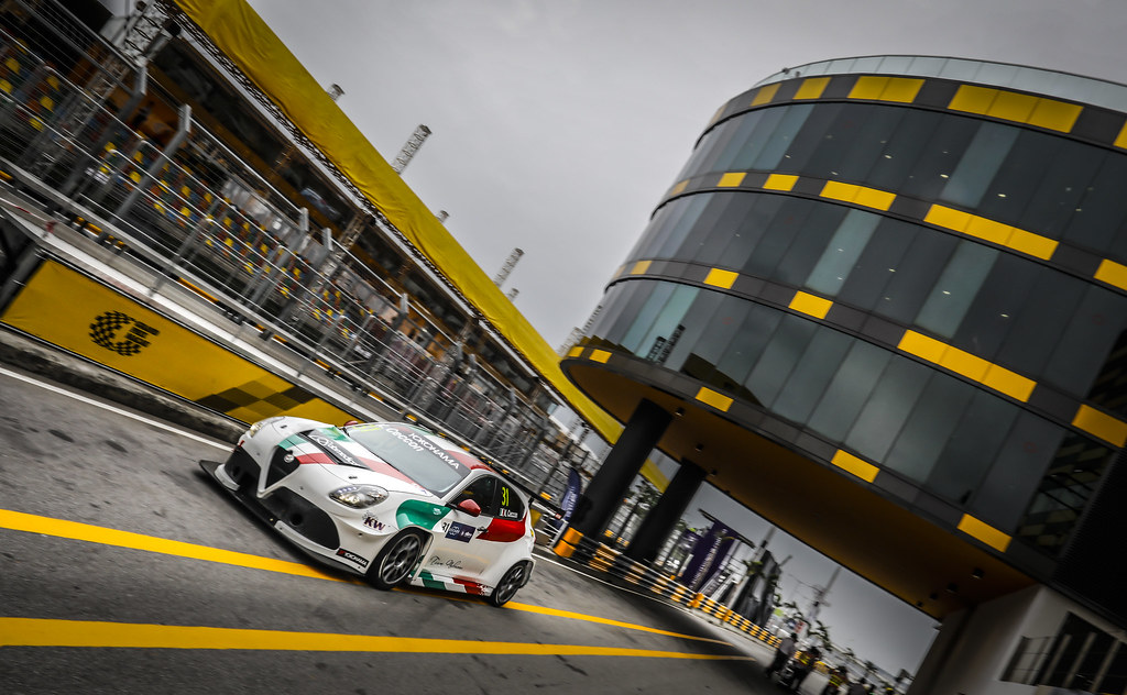 31 CECCON Kevin  (ITA), Mulsanne Srl, Alfa Romeo Giulietta TCR, action during the 2018 FIA WTCR World Touring Car cup of Macau, Circuito da Guia, from november  15 to 18 - Photo Francois Flamand / DPPI