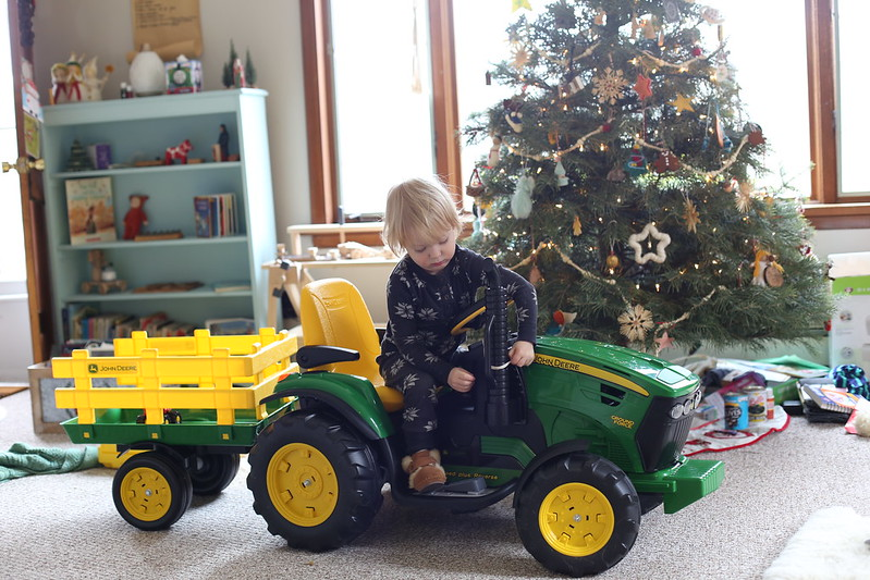 a tractor for the boys