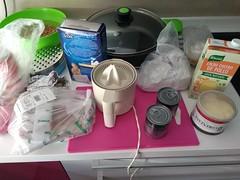 Preparando el risotto