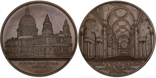 St. Paul's Cathedral bronze Medal.