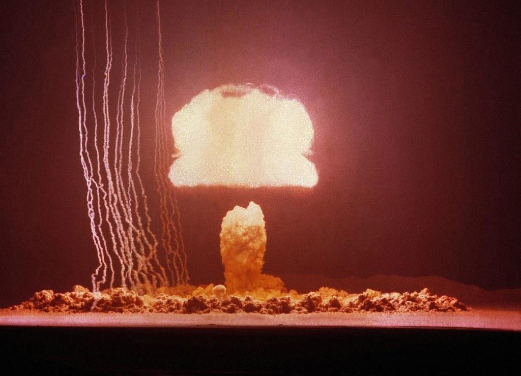 1953. Ядерное испытание на полигоне в Неваде. 4 июня