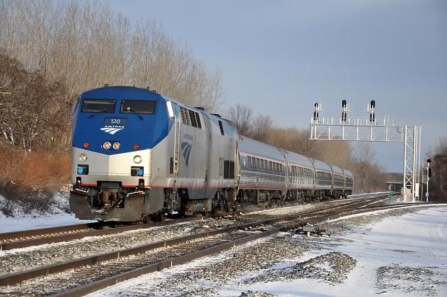 Amtrak North Chili,NY
