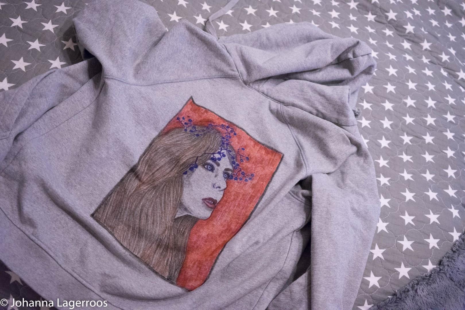 diy print hoodie