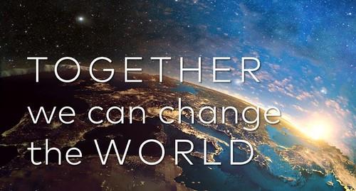 Juntos cambiaremos el mundo