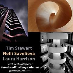 #WeekendChallenge Winners Architectural Spaces