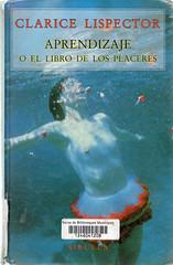 Clarice Lispector, Aprendizaje o el libro de los placeres