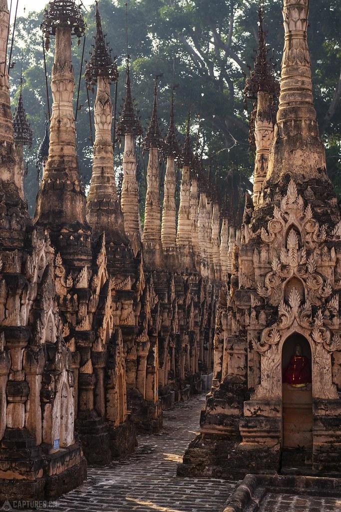 Pagodas of Kakku - Mwe Taw Kakku
