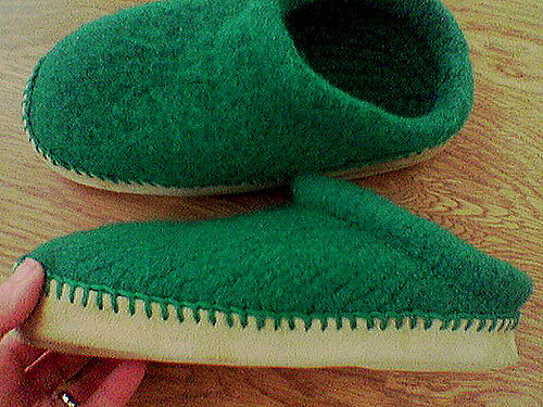Felted Clogs Class - 2 Sessions - April 6 and 13, 2019 from 1 pm to 3 pm