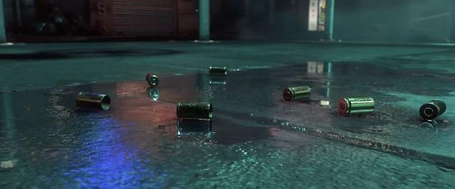 CryEngine Neon Noir - Odrážky