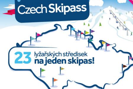 Czech Skipass 2018/19: sezónka pro 215 km českých sjezdovek