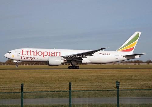 Ethiopian Cargo                                  Boeing 777                                     ET-APU