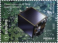 06 Belgie in de ruimte zegelC