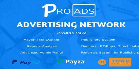 ProAds v2.6.0 – Online Advertising Network Script