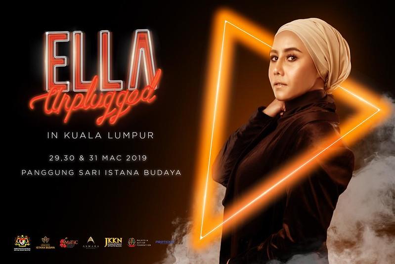 Konsert Unplugged Ella di Istana Budaya