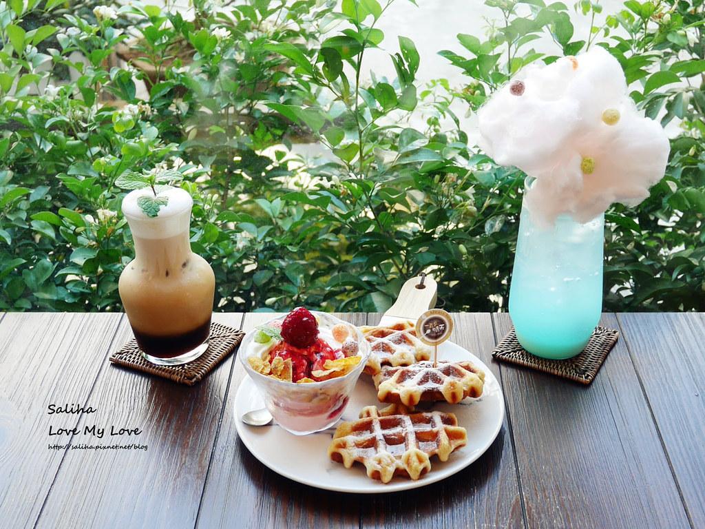 台北中山站咖啡廳下午茶推薦一直是晴天浮誇系夢幻飲料甜點鬆餅咖啡 (3)