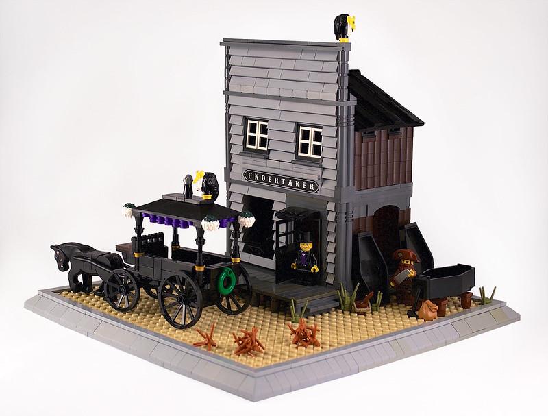 Undertaker's office - LEGO Far West