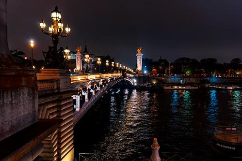 Paris night lights...