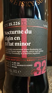 SMWS 35.226 - Nocturne du Elgin en B flat minor