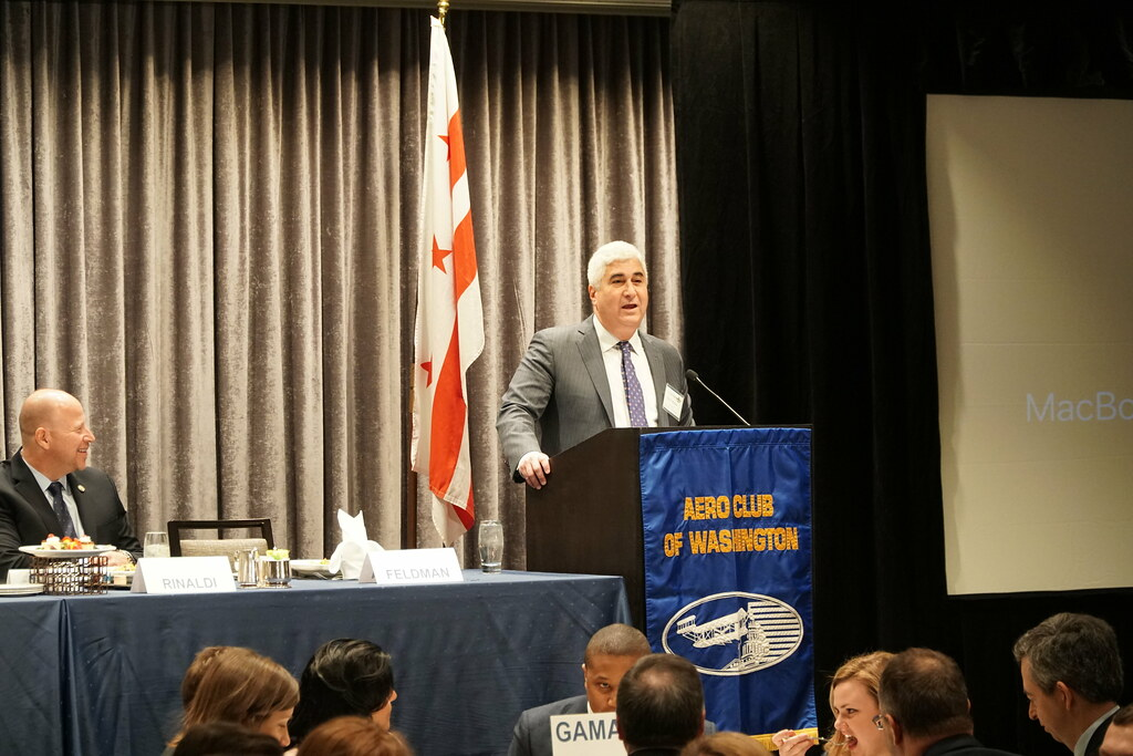 NATCA President Paul Rinaldi Speaks at Aero Club Luncheon, Jan. 29, 2019