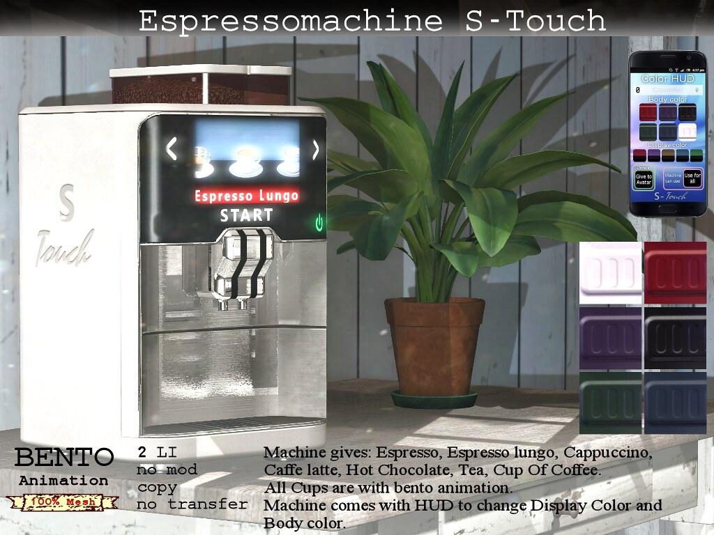 No.59 Espressomachine S-Touch