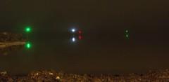 Foggy Harbor Lights