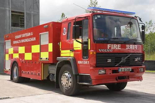 Monaghan Fire Authority 1998 Volvo FL6 18 HPMP Fire WrC 98MN2489