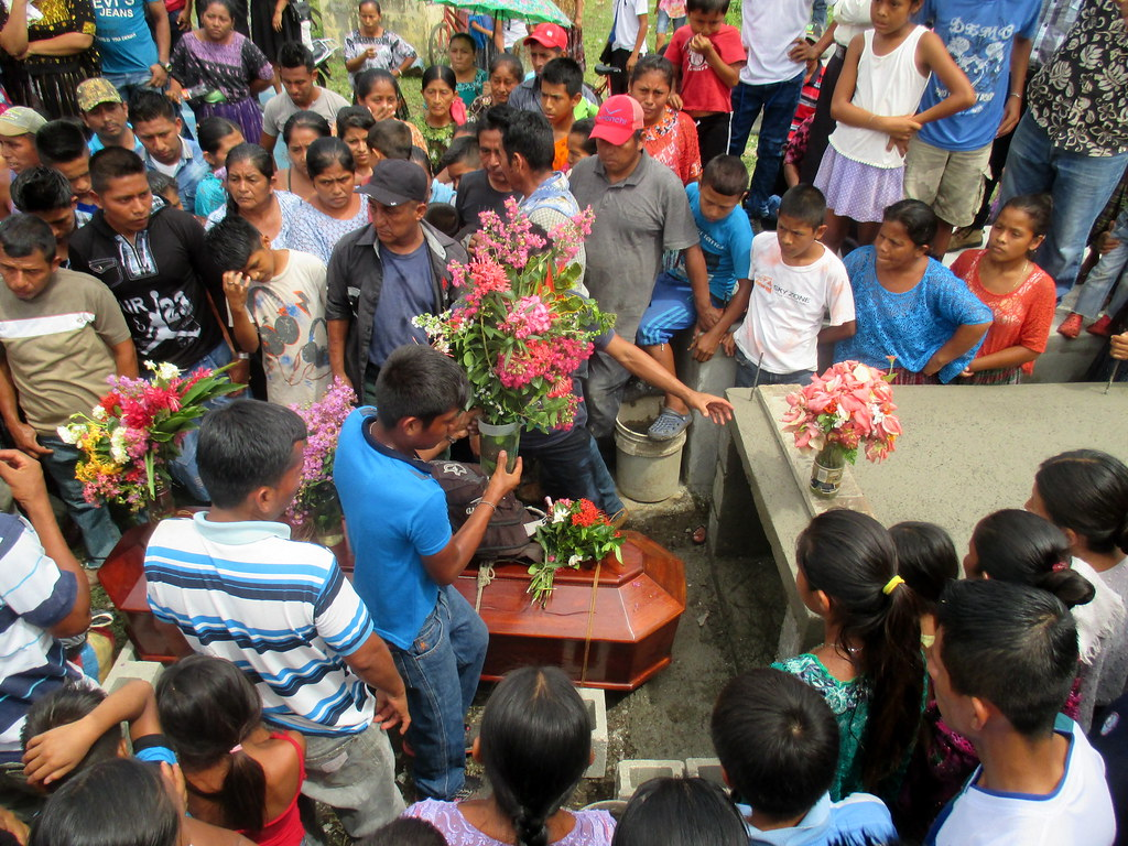 photo of funeral in Guatemala