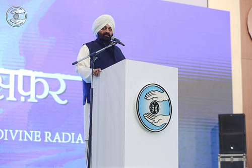Hindi speech by Naranjan Singh, IAS (Retd), Punjab