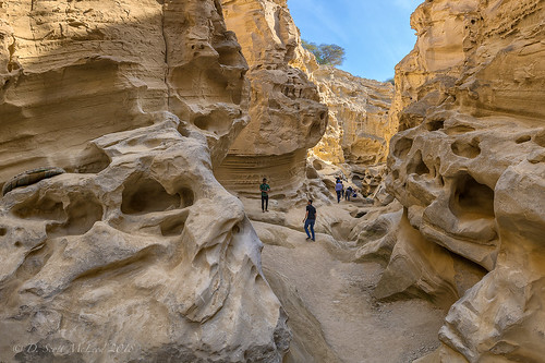 Chahkooh Canyon, Geshm Island, Iran