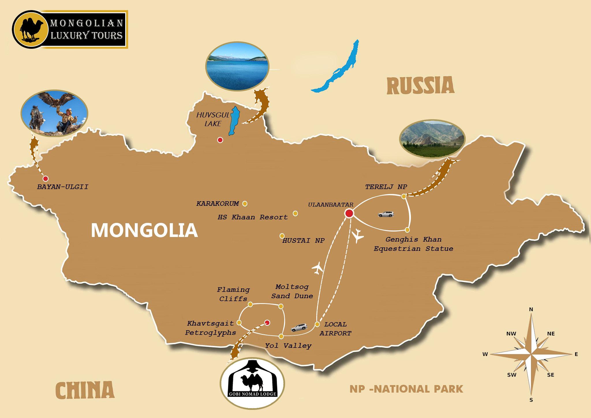 South Gobi Desert & Terelj National Park 7 days