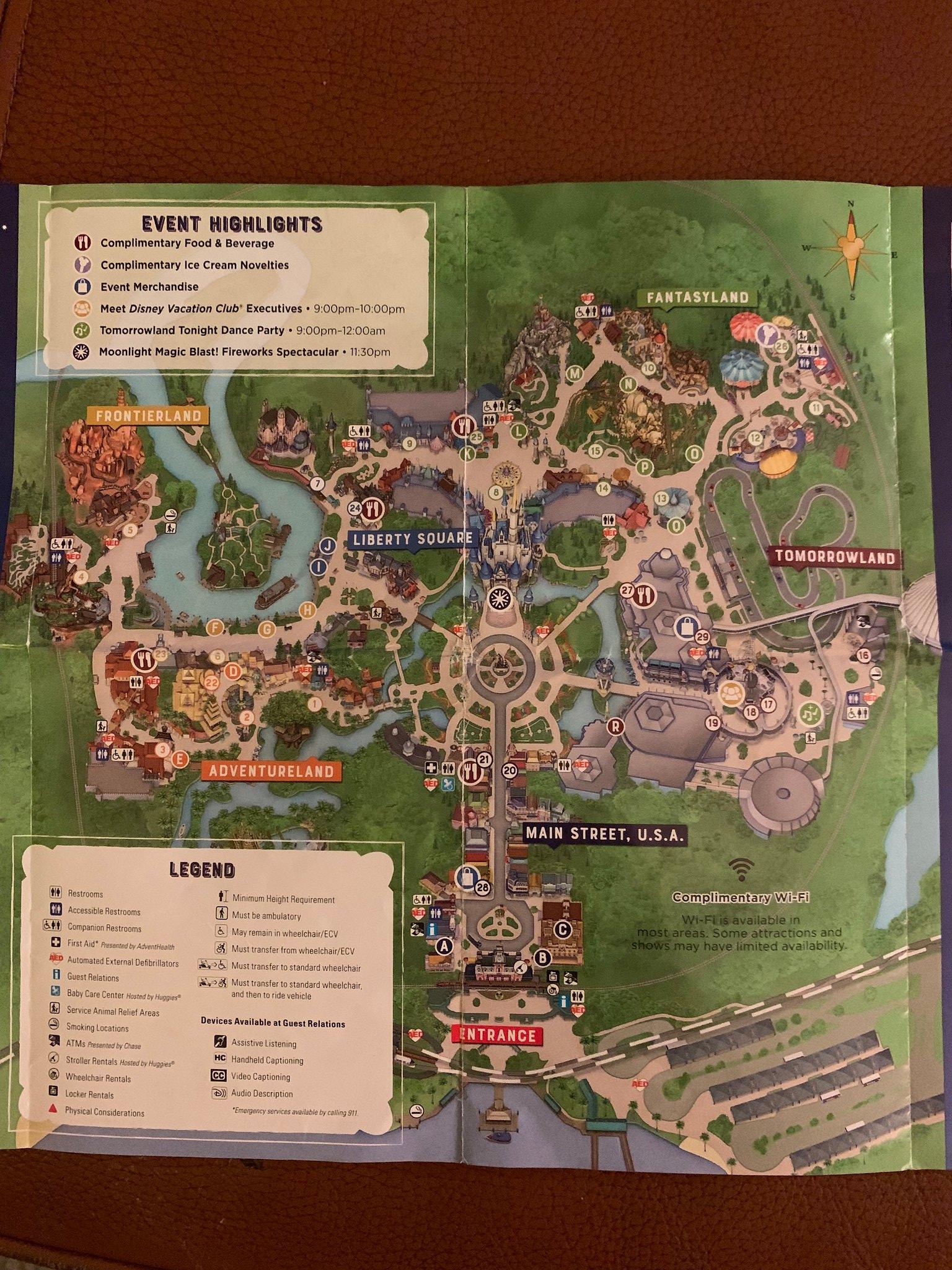 Magic Kingdom Moonlight Magic - The DVC Boards at