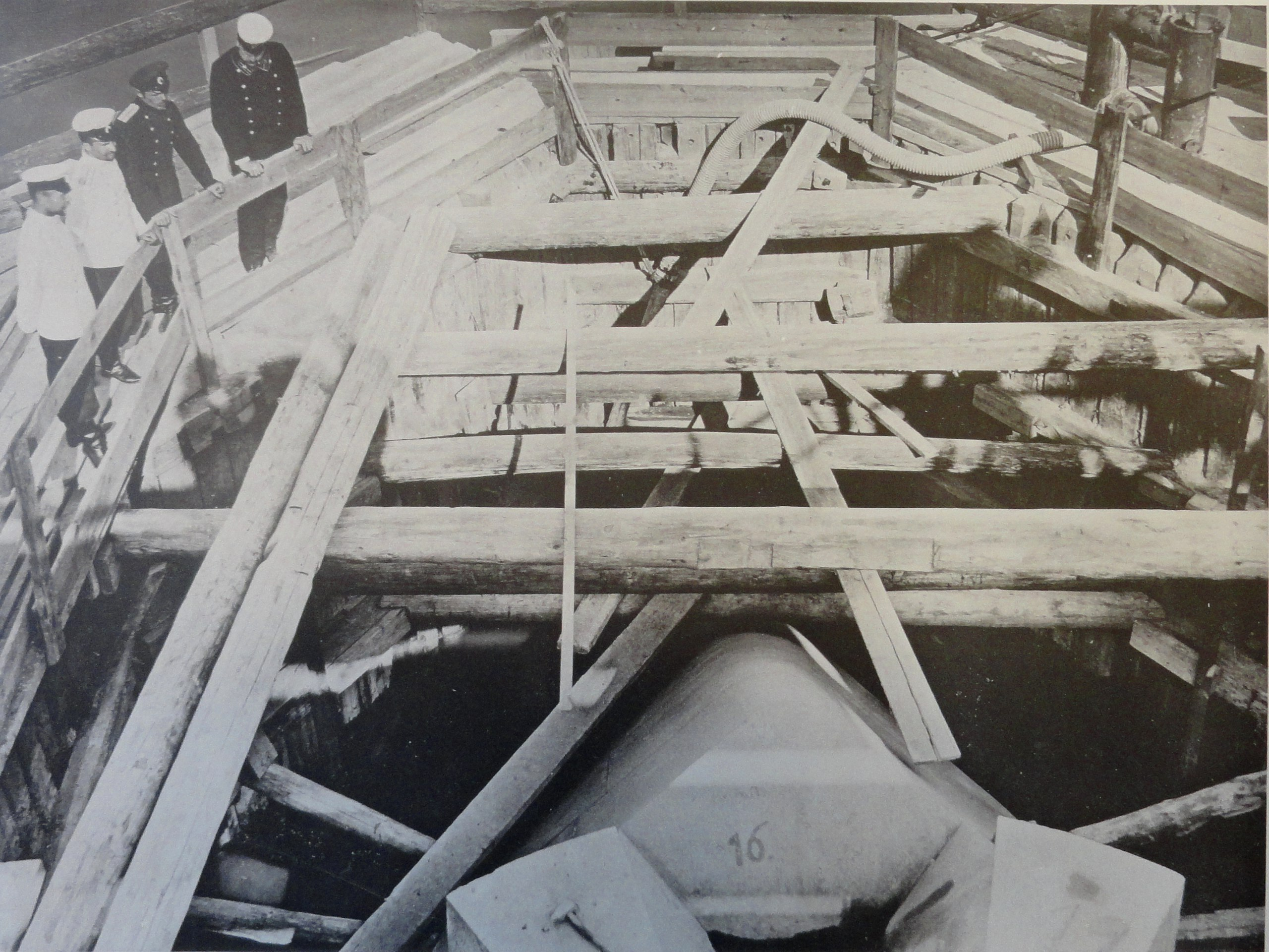 1900. Ледорез быка №6. Лето