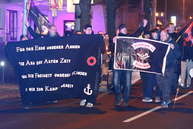 Neonazi-Demo Güstrow