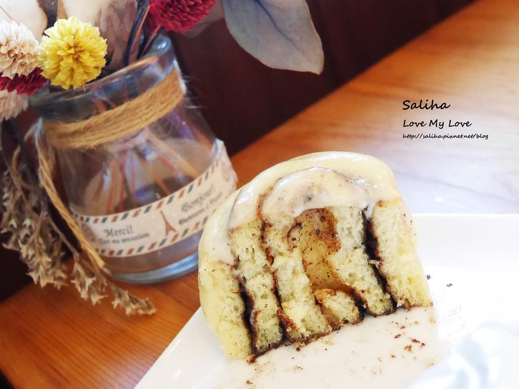 新北瑞芳好吃甜蜜屋肉桂捲下午茶咖啡 (4)