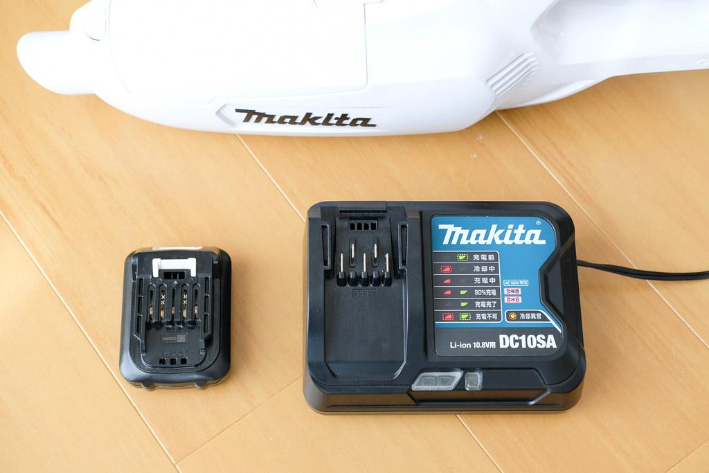 マキタCL107FDSHW バッテリーと充電器