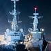 Nato Warships docked at Dundee port