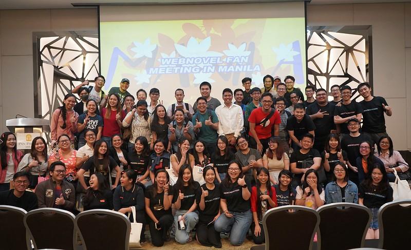 Webnovel's Fan Meeting in Manila